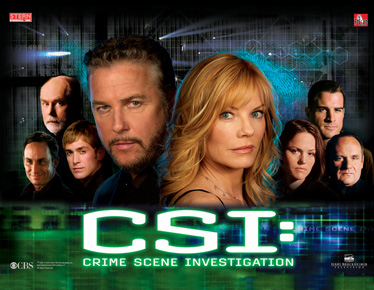 CSI Backglass