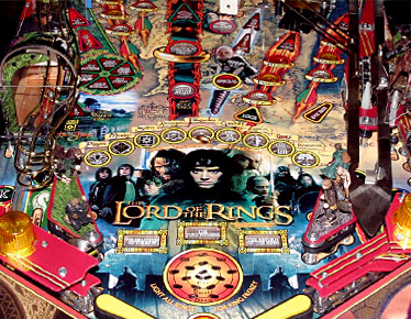 The Lord of the Rings Lower Playfield