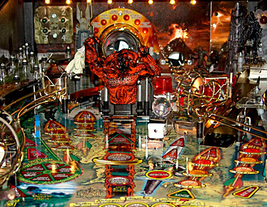 The Lord of the Rings Upper Playfield