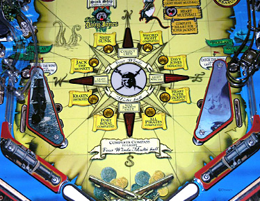 Pirates of the Caribbean Lower Playfield