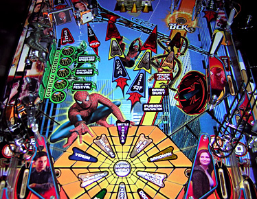 Spider-Man Lower Playfield