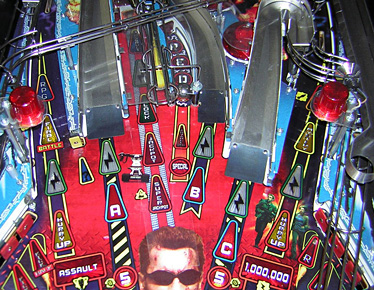 Terminator 3 Upper Playfield