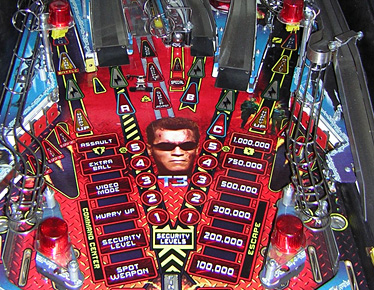 Terminator 3 Middle Playfield