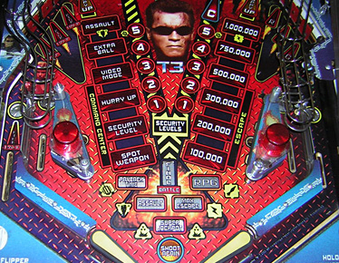 Terminator 3 Lower Playfield