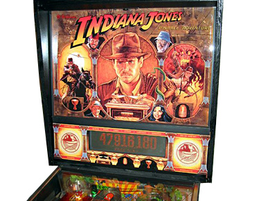 Indiana Jones the Pinball Adventure Scoreboard