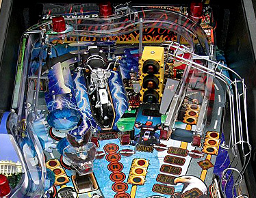 Harley Davidson Upper Playfield