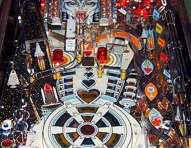 The Machine Bride of Pin-bot Middle Playfield