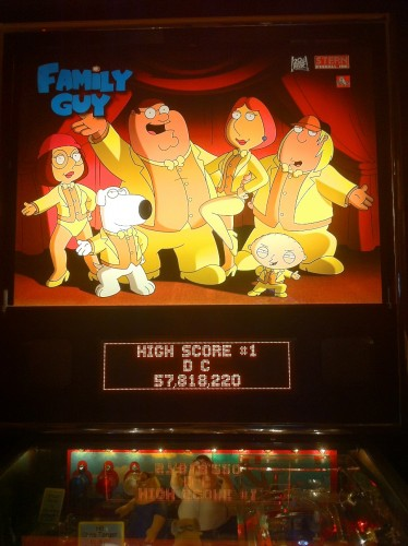 David's Family Guy High Score