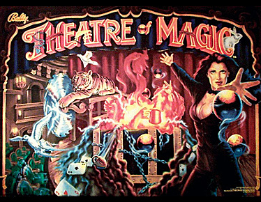 Theatre of Magic Backglass