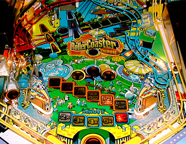Roller Coaster Tycoon Lower Playfield