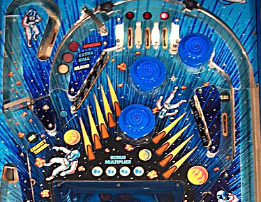 black pinball machine craigslist